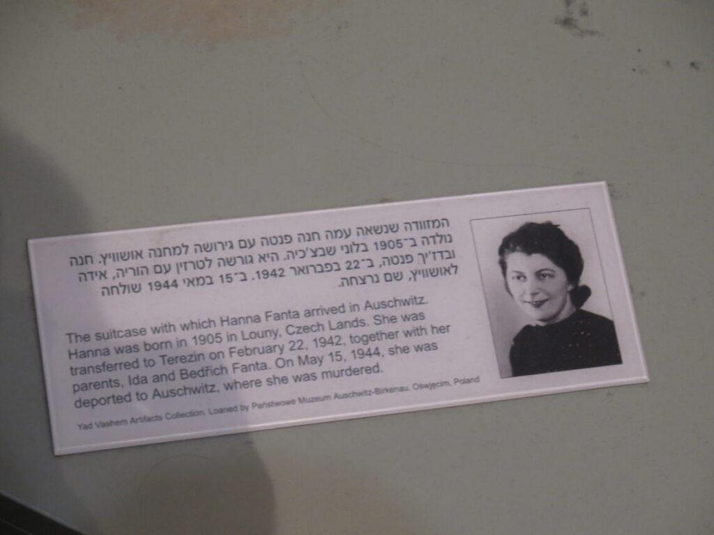 ... som blev myrdet i Auschwitz