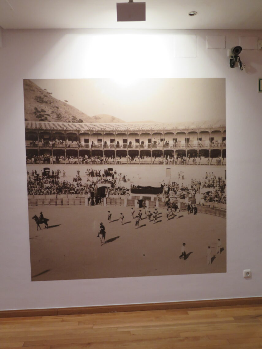 Photo from bullfighting at Picassos Birthplace