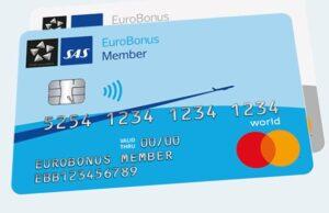SAS Eurobonus Mastercard og få råd til ferie