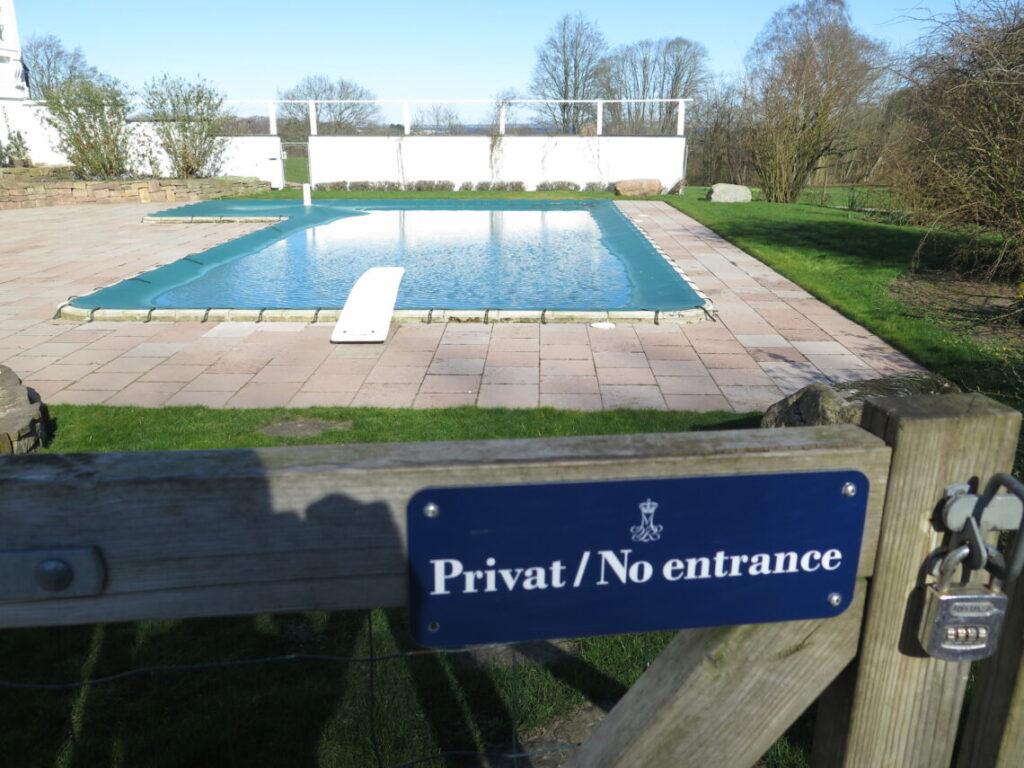 Swimmingpool på Marselisborg Slot til familien