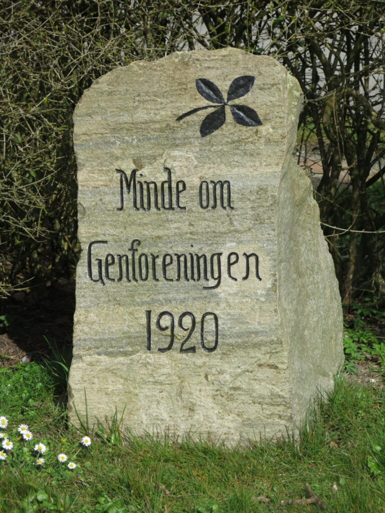 Genforeningsstenen i Lindå