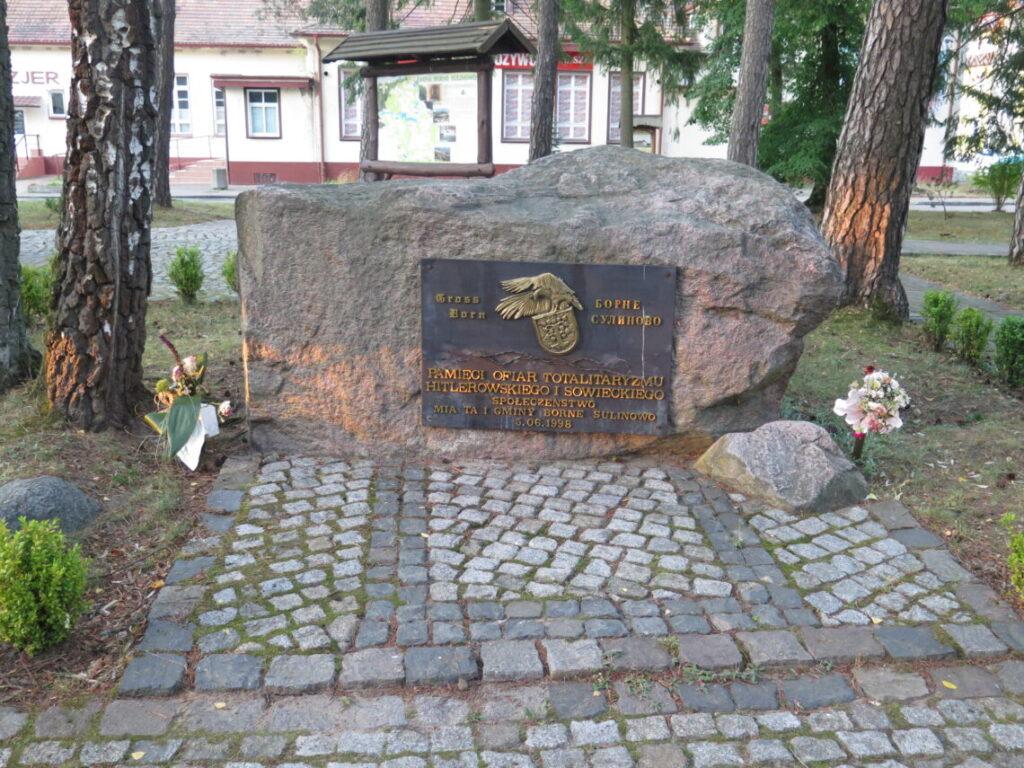 Mindesten for ofrene for det sovjetiske og det nazistiske diktatur