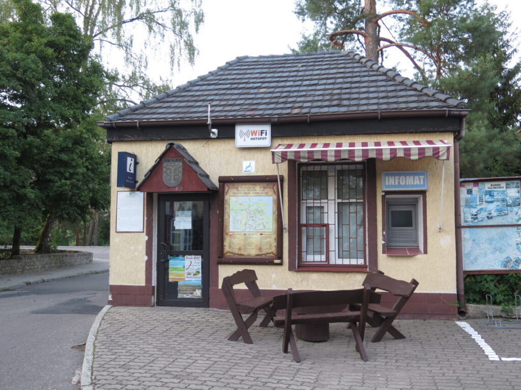 Det lokale turistbureau i Den hemmelige By