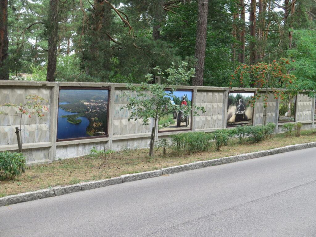 """Betonmuren med history in """"graffiti"""""""
