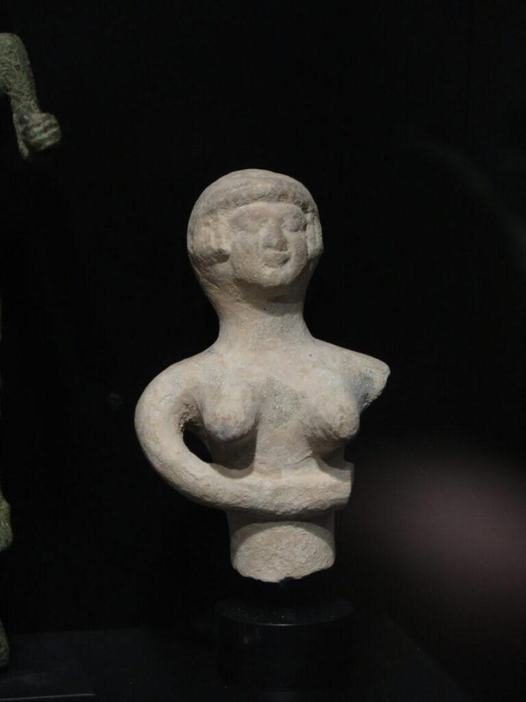 Frugtbarhedsgudindem Astarte fra Museet Ifergan Collection
