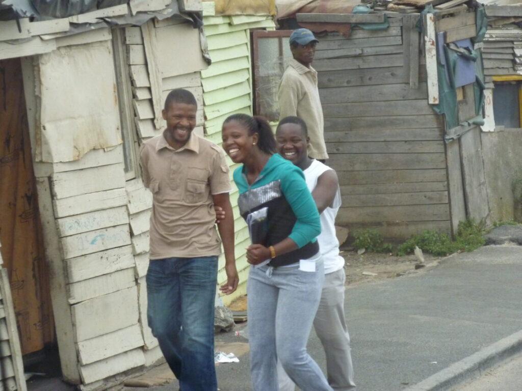 Liv i gaden i Township