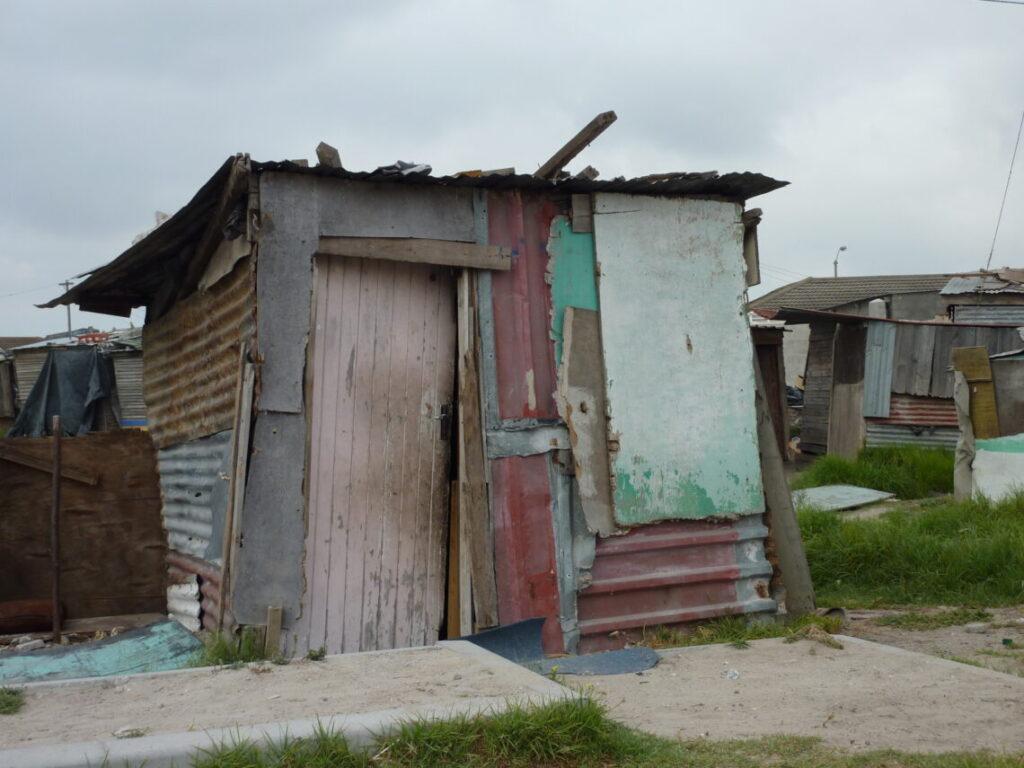 Hus i township