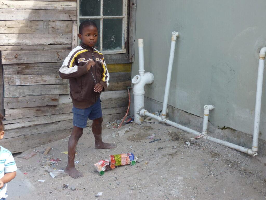 Klar til væddeløb for børn i Townships
