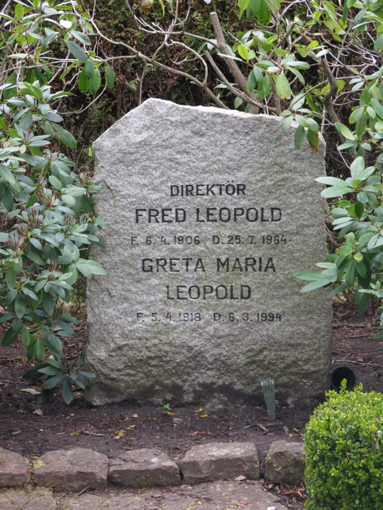 Direktør Fred Leopold