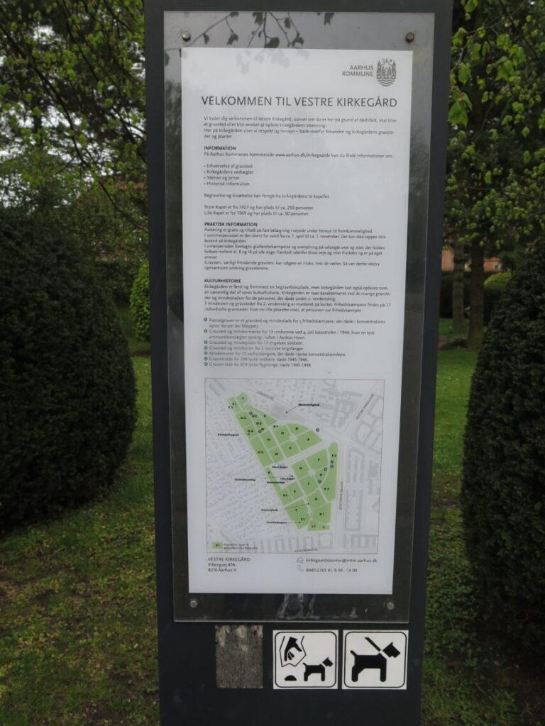 Oversigt over Vestre Kirkegård