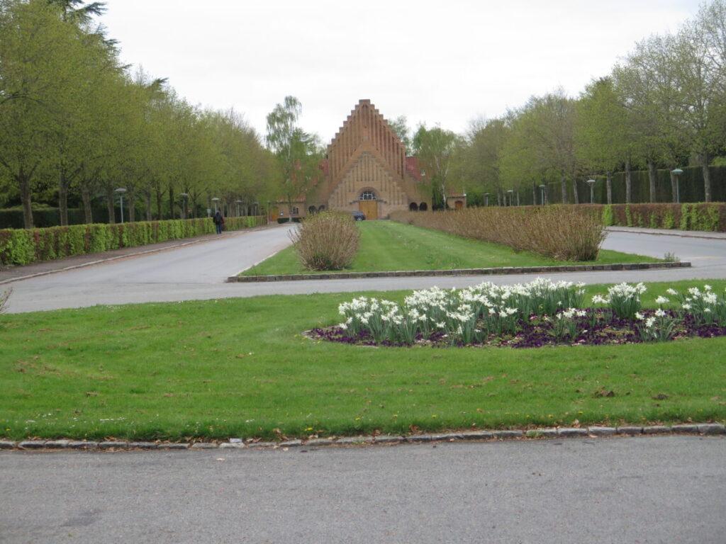 Det store kapel på Vestre Kirkegård