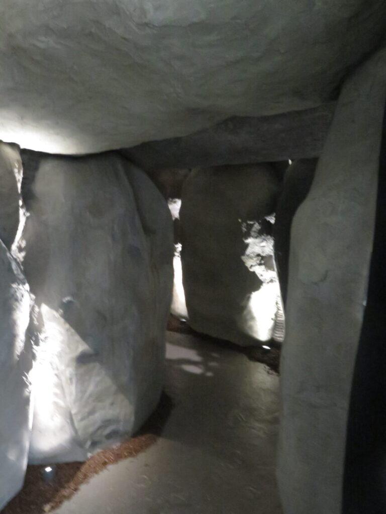 Stenaldergrav på museet i Maribo